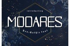 Modares Neo-Gothic Font Product Image 1