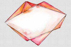 Tourmaline crystals Watercolor png Product Image 4