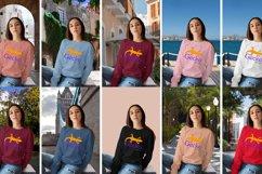 Gecko Girl 2 Sweatshirt mock up Product Image 2