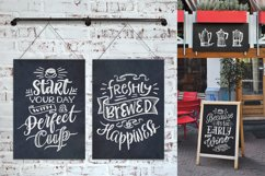 Coffee Chalk Letterings Product Image 3