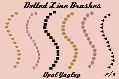 18 Dotted Lines Procreate Brushes Product Image 3