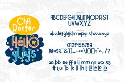 Hello Guys Layered Font Product Image 6