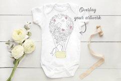 Onsie, Infant bodysuit Mockup Product Image 3