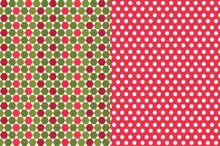 Christmas Digital Paper JPG, Seamless Graphic Product Image 2