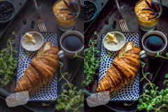 8 Photoshop Actions, ACR and LUT Presets Food blog Product Image 3