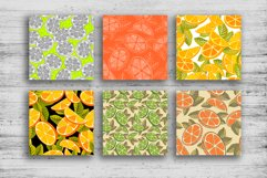 Orange juice patterns and frames Product Image 2