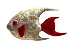 Angelfish PDF Plush Pattern Resizing Product Image 3