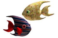 Angelfish PDF Plush Pattern Resizing Product Image 2