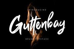 Guttenbay Brush Typeface Product Image 1