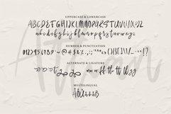Web Font Athan - A Handwritten Script Font Product Image 4