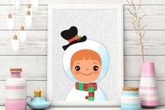 Christmas Clipart Boys Product Image 2