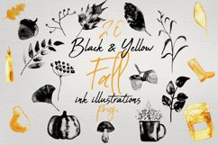 Fall & Halloween Watercolor Illustrations and Vectors Bundle Product Image 2