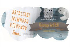 Cherripops Serif Bold Product Image 1