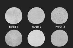 PAPER TEXTURE BRUSHES FOR PROCREATE Product Image 5