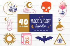 Magic Svg Bundle   Witch Svg   Witchcraft Svg Cut Files Product Image 4