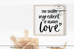 The Secret Ingredient is Always Love SVG Product Image 2