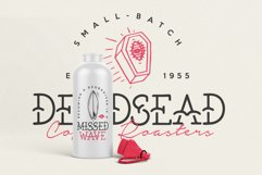 The Bearded Sailor - Tattoo Font / Line Font / Logo Font Product Image 5