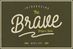 Brave Typeface Product Image 1