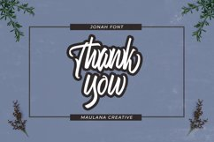 Jonah Brush Font Product Image 3