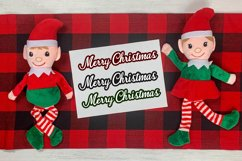 3 Merry Christmas Print & Cut Files Product Image 2