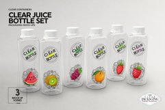 Juice Bottle Set Packaging MockUp Product Image 4