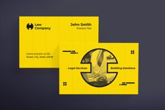 Legal Services / Lawyer Business Card Product Image 2