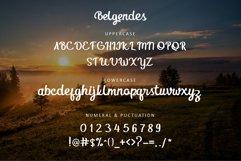 Belgendes Script Product Image 2
