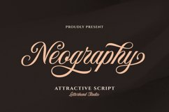 Neography - Attractive Script Product Image 1