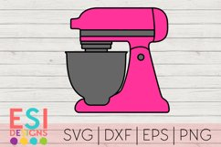Kitchen SVG | Baking SVG | Electric Mixer Product Image 1