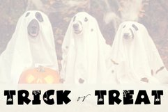 Spooky - A Fun Halloween Font Product Image 4