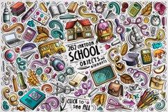 School Cartoon Doodle Big Pack Product Image 2