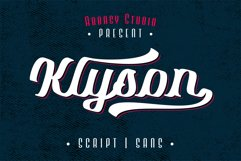 Klyson Font Duo Product Image 1