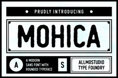Mohica Font Product Image 1