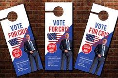 Political Election Door Hangers Product Image 2