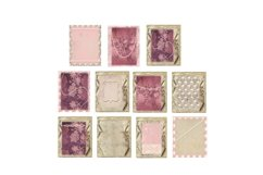 Lavender Pearls Journal Scrapbook Kit, 22 Pages Product Image 4
