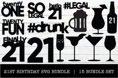 21ST BIRTHDAY SVG BUNDLE Product Image 1