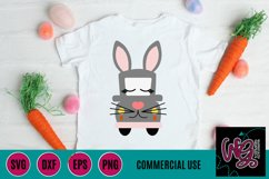 Bunny Whimsy Truck SVG, DXF, PNG, EPS Comm Product Image 1