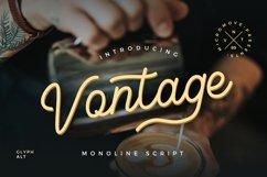 Vontage - Monoline Script Product Image 1