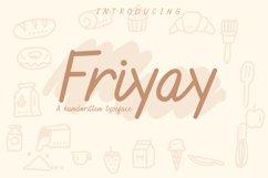 Friyay Handwritten Typeface Product Image 1
