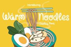 Warm Noodles Product Image 1