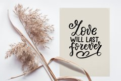 Love never ends svg. Bible quotes svg. Christian svg. Product Image 3