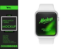 Apple Watch 5 Series Mockup Product Image 1