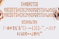 Fence Of Love | A Cute Display Font Product Image 4