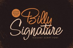 Billy Signature Product Image 12
