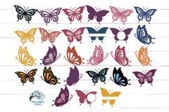 Butterfly SVG Bundle   27 Butterfly SVGs Product Image 2