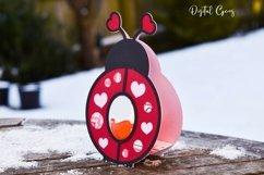 Love bug, Lady bird Easter egg holder design SVG / DXF / EPS Product Image 4