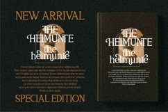 THE HELMUNTE - Luxury Serif Font Product Image 17