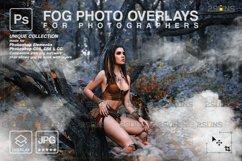 Smoke backgrounds & Smoke bomb overlay, Photoshop overlay Product Image 1