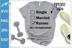 Runner status, Marital status svg, running svg, Married life Product Image 1