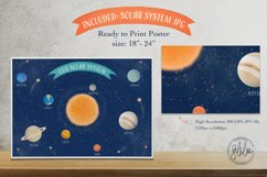Space Adventure Clipart Bundle - Outer Space Fun Scenes Product Image 5